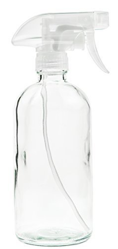 5. Glass Spray Bottle - Empty Refillable 16 oz Container