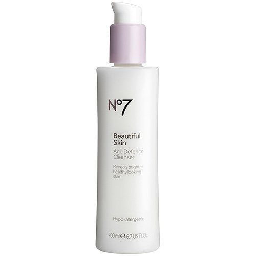 3. BOOTS No7 Beautiful Skin Age Defence Cleanser