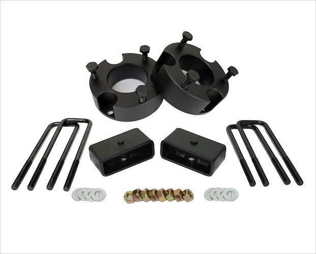 8. MotoFab Lifts Taco05-3F-2R- 3 inch Front and 2 inch Rear Leveling lift kit