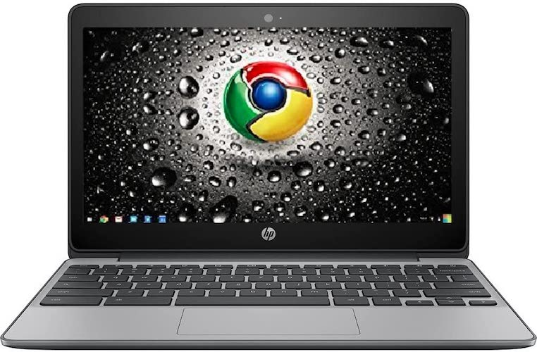 5. Premium High Performance HP 11.6-inch Chromebook Intel Celeron Dual-Core Processor 4GB RAM 16GB eMMC Hard Drive 802.11AC WIFI HDMI Webcam Bluetooth 12-hour Battery Chrome OS-Black