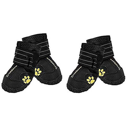 4. EXPAWLORER Waterproof Dog Boots Reflective Non Slip Pet Booties