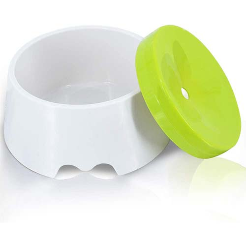 7. Companet Dog Water Bowl No Spill Pet Water Bowl