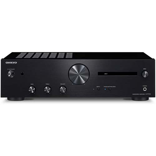 10. Onkyo A-9110 Home Audio Integrated Stereo Amplifier - Black