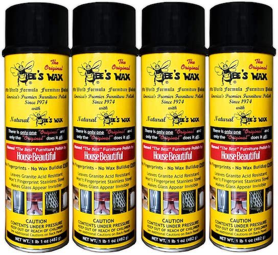 10. The Original BEE'S WAX Old World Formula Furniture Polish