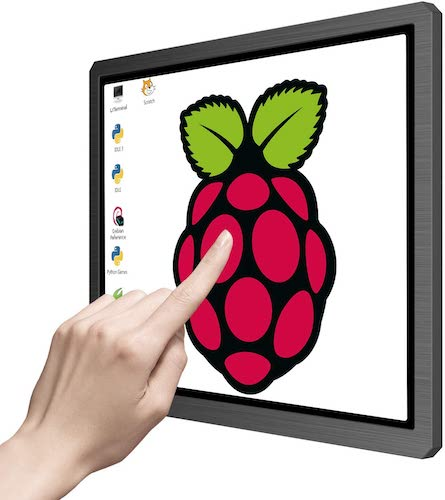 1. Touchscreen Portable Monitor, 12.3 Inch 1600x1200 4:3 IPS HDMI/VGA/DVI Input for Industrial Equipment,10 Point Touch Computer Display Speaker VESA