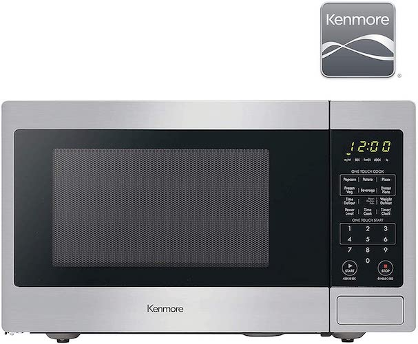 5. Kenmore 70923 0.9 cu. ft Small Compact 900 Watts Countertop Microwave