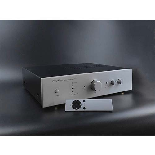 4. SoundArtist SA-200IA Stereo Amplifier HiFi Integrated Amplifier with Remote Control (Silver)