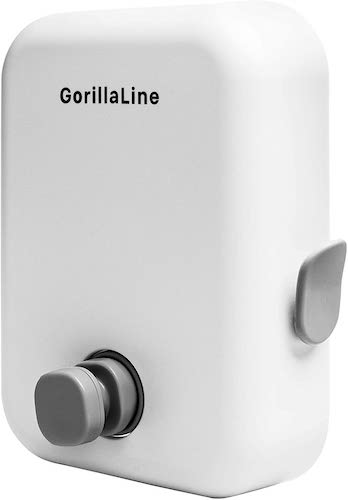 5. GorillaLine - Retractable Clothesline | Premium Heavy Duty Clothes Drying Laundry Line | Wall Mounted Stainless Steel Laundry Line