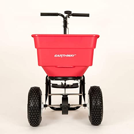 2. Earthway 2170 Commercial 100-Pound Broadcast Push Spreader