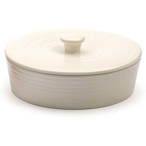 3. RSVP International MAIZ-W Stoneware Tortilla Warmer