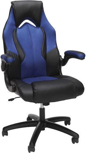 2. OFM Essentials Collection High-Back Racing Style Bonded Leather Gaming Chair
