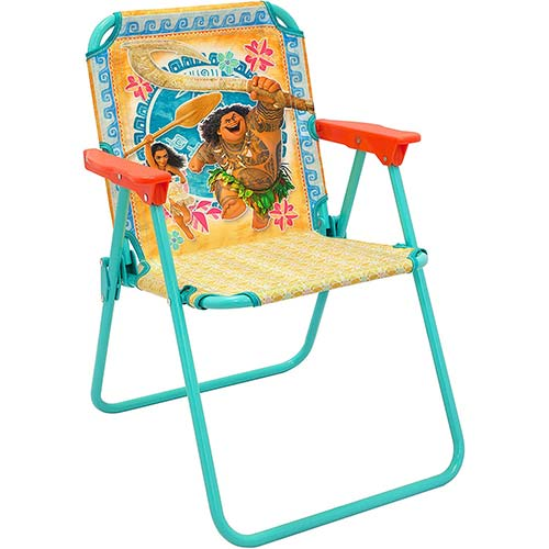 3. Disney Moana Kids Folding Patio Chairs
