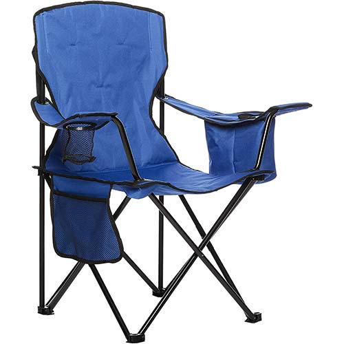 8. AmazonBasics Portable Camping Chair