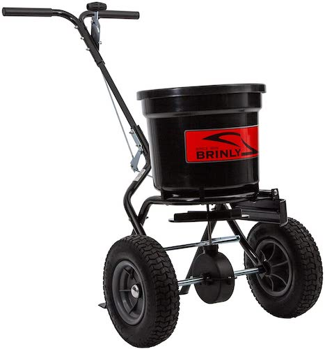 7. Brinly P20-500BHDF Push Spreader
