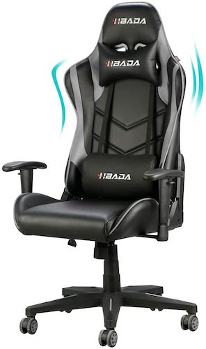 3. Hbada Gaming Chair Racing Style Ergonomic High Back Computer Chair