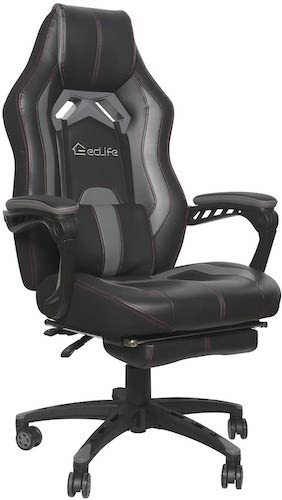 8. eclife Gaming Chair Office Computer Chair
