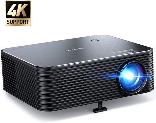 9. Projector, APEMAN Native 1080P HD Video Projector
