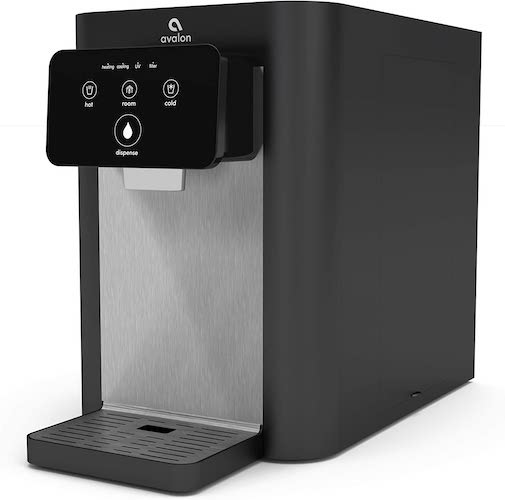 10. Avalon A9 Electric Touch Bottleless Cooler Water Dispenser-3 Temperatures, UV Cleaning, Electronic Countertop