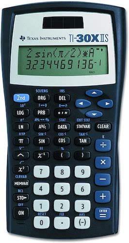 1. Texas Instruments TI-30XIIS Scientific Calculator