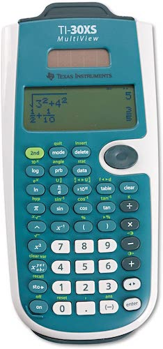 3. Texas Instruments TI-30XS MultiView Scientific Calculator