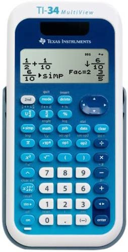 8. Texas Instruments TI-34 MultiView Scientific Calculator