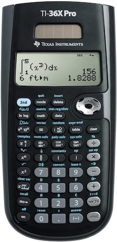 4. Texas Instruments TI-36X Pro Engineering/Scientific Calculator