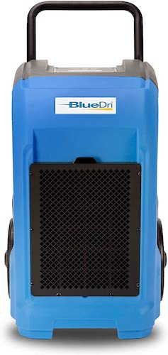 4. BlueDri BD-76 Commercial Dehumidifier for Home, Basements, Garages, and Job Sites