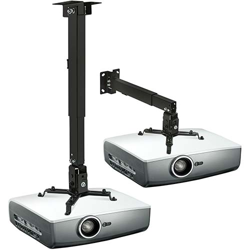 9. Mount-It! Wall or Ceiling Projector Mount with Universal LCD/DLP Mounting for Epson, Optoma, Benq, ViewSonic Projectors
