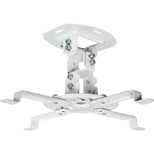 1. VIVO Universal Adjustable White Ceiling Projector | Projection Mount Extending Arms Mounting Bracket (MOUNT-VP01W)