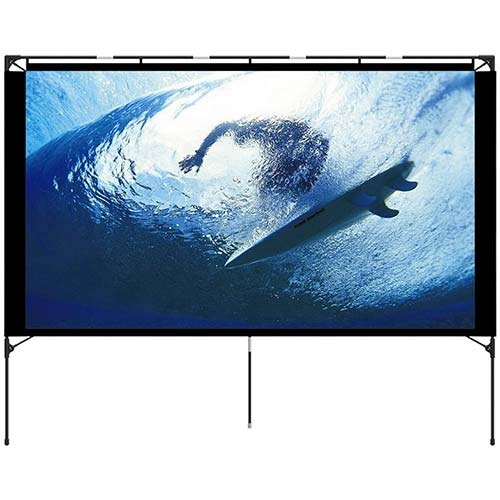 4. Outdoor Projector Screen - Foldable Portable Outdoor Front Movie Screen