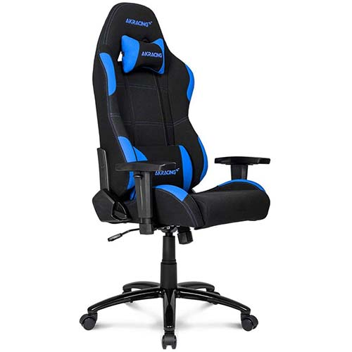5. AKRacing Core Series EX-Wide Gaming Chair with Wide Seat, High and Wide Backrest, Recliner, Swivel, Tilt, Rocker