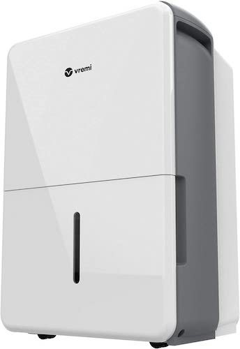 7. Vremi 1,500 Sq. Ft. Dehumidifier Energy Star Rated for Medium Spaces and Basements