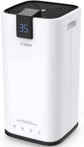 9. COLZER 70 Pints Dehumidifiers for Home Basements, Bathroom and Large Room up to 4,000 sq ft