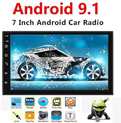 5. Binize Android 9.1 7 Inch HD Quad-Core 2 Din Car Stereo Radio Multimedia Player NO-DVD GPS Navigation