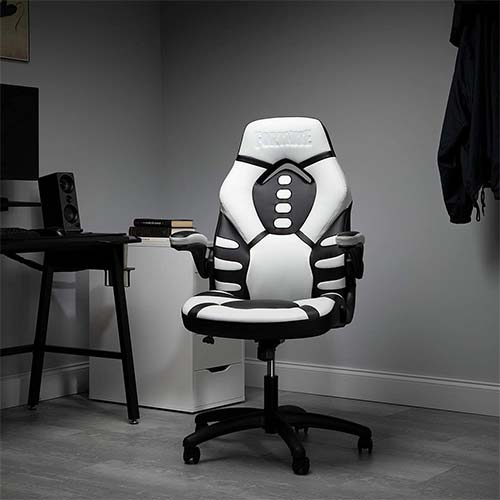 9. Fortnite SKULL TROOPER-V Gaming Chair, RESPAWN by OFM Reclining Ergonomic Chair (TROOPER-01)