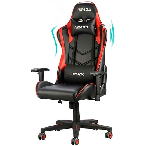 8. Hbada Gaming Chair Racing Style Ergonomic High Back Computer Chair
