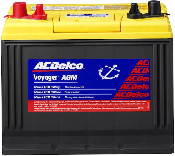 5. ACDelco M24AGM Professional AGM Voyager BCI Group 24 Battery