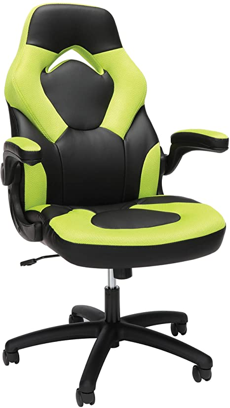 2. OFM Essentials Collection Racing Style Bonded Leather Gaming Chair
