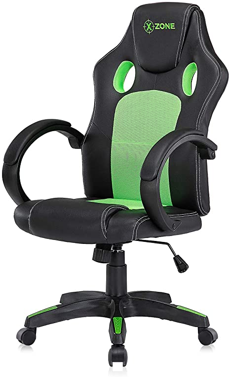10. Racing Style PU Leather Gaming Chair