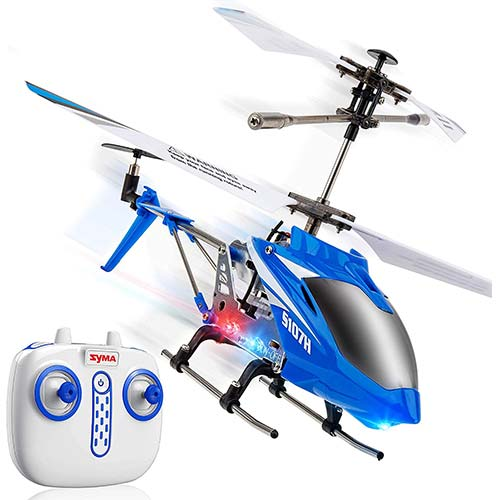 2. Syma S107H Remote Control Helicopter - w/ Altitude Hold Indoor RC Helicopter