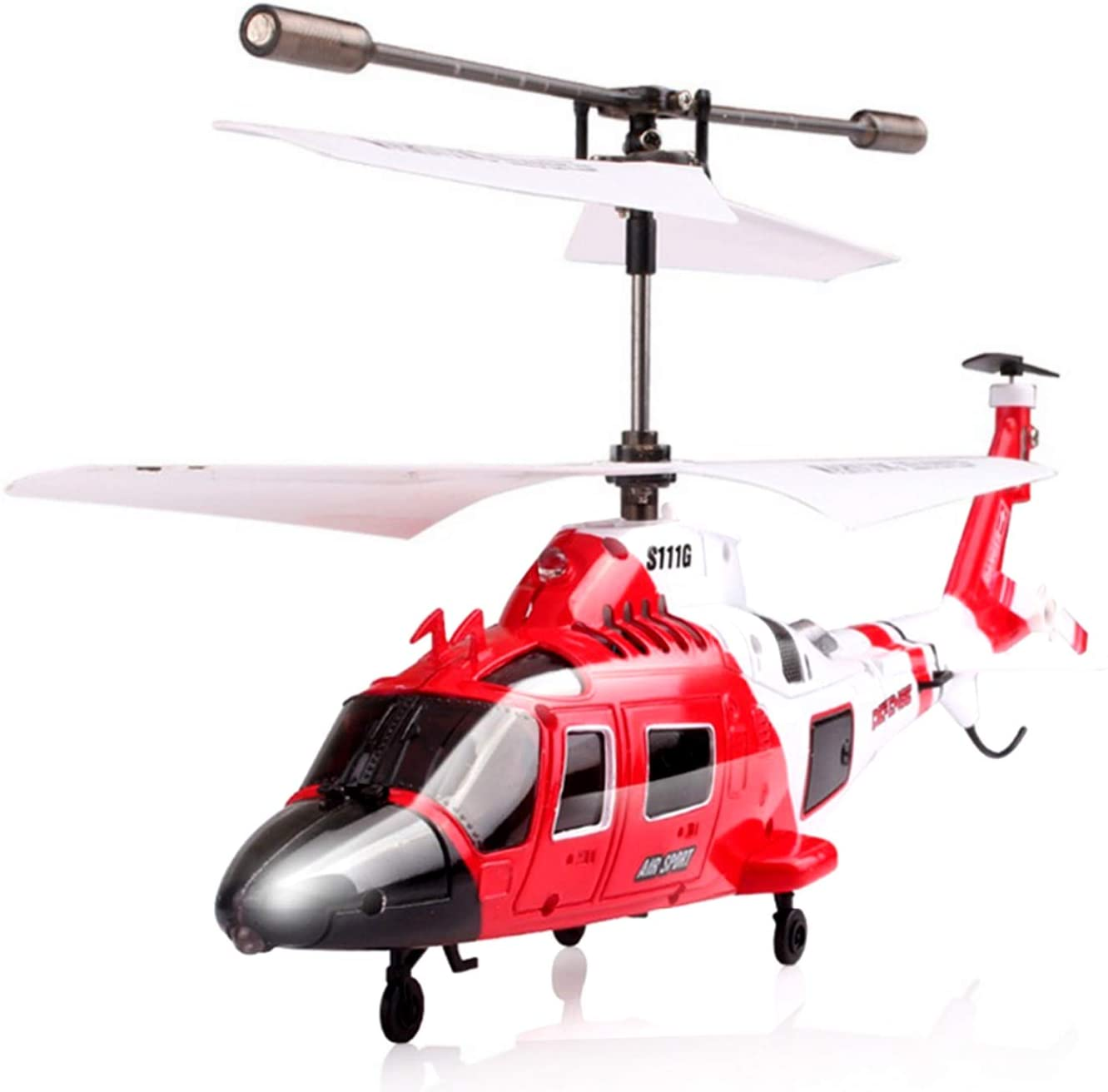 6. POCO DIVO Coast Guard Rescue Helicopter RC Flight Infrared 3CH Gyro Marine Aircraft Model S111G