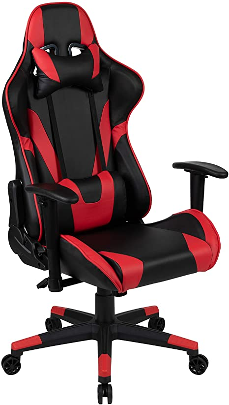 3. Flash Furniture X20 Gaming Chair Racing Office Ergonomic Computer PC Adjustable Swivel Chair