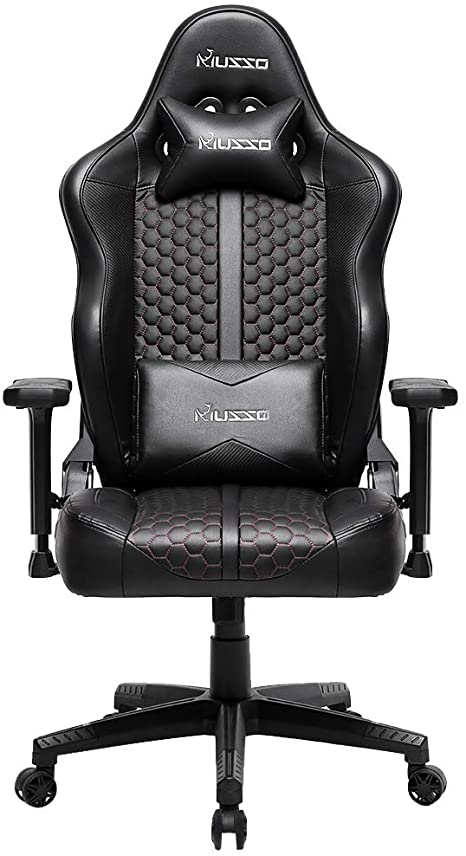 5. Musso Big & Tall Gaming Chair Adults Racing Computer Gamer Chair