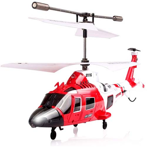 5. Cheerwing S107/S107G Phantom 3CH 3.5 Channel Mini RC Helicopter with Gyro Crimson