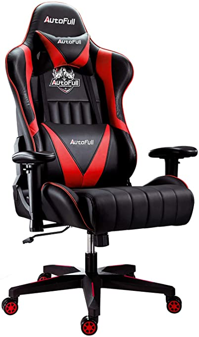 9. AutoFull Gaming Chair Racing Style Ergonomic High Back Computer Chair