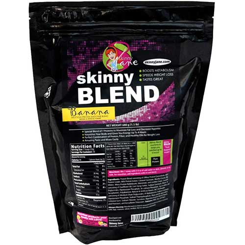 8. Skinny Blend - Best Tasting Protein Shake for Women - Smoothie Powder - Weight Loss Shakes