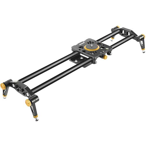 4. Neewer 31.5 inches/80 centimeters Carbon Fiber Camera Track Slider Video Stabilizer Rail