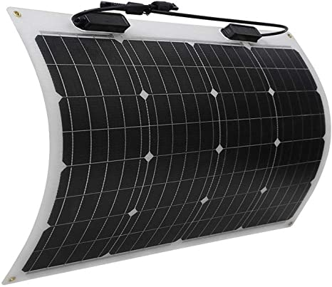 1. Renogy 50 Watt 12 Volt Extremely Flexible Monocrystalline Solar Panel