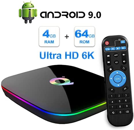 4. Android 9.0 TV Box, TUREWELL Allwinner
