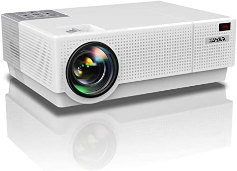5. YABER Y31 Native 1920x 1080P Projector 7000 Lux Upgrade Full HD Video Projector
